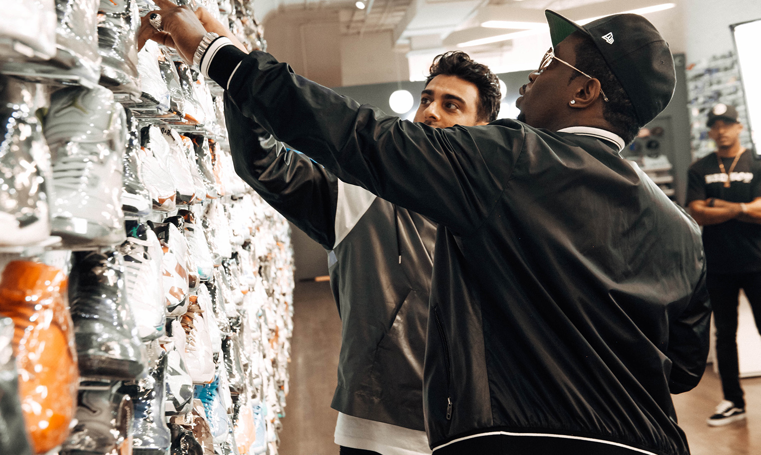 Sneaker Shopping With Diddy